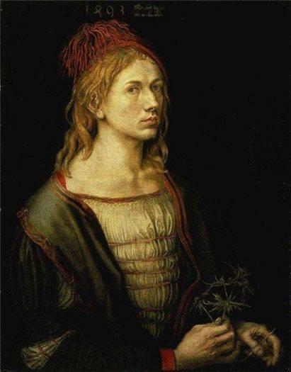 Albrecht Durer portresi self portrait