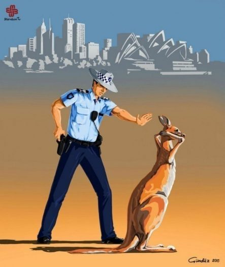 Avustralya polis gündüz ağayev