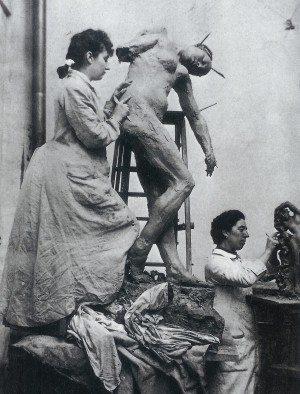 Camille Claudel kurtlarla koşan kadınlar