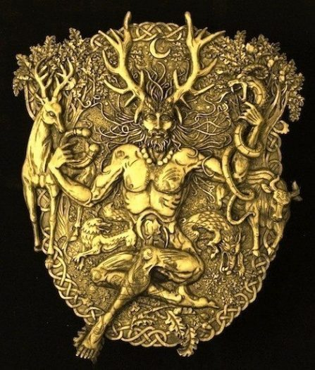 boynuzlu tanrı orman doğa