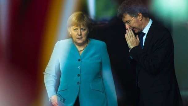 Almanya Şansölyesi Başbakanı Angela Merkel'in danışmanı Christoph Heusgen
