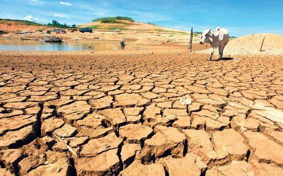 Kuraklık kurak topraklar