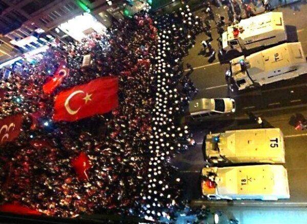 polis vatandaş karşı karşıya gezi olayları