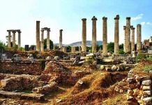 afrodit tapınağı sardes sart antik kenti manisa salihli oteller yemek restoran