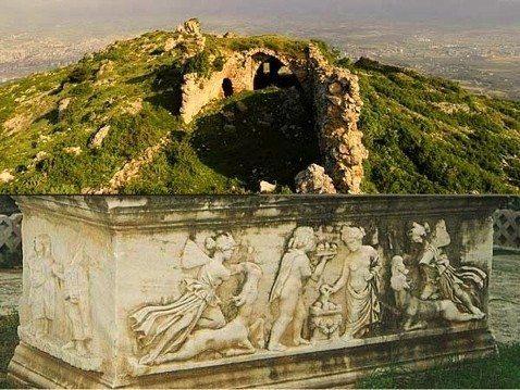 tekrardoğuş antakya hatay tarih mozaik antik mezar kent