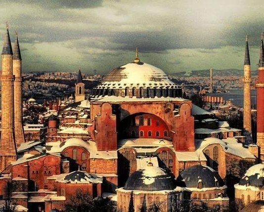 ayasofya istanbul kutsal bilgelik