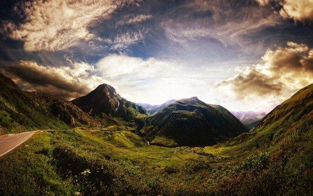 dağ çocuk gökyüzü yalnızlık