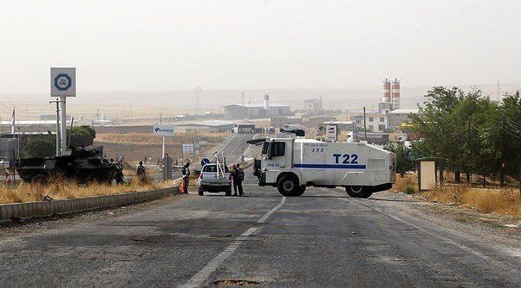 diyarbakır sur çatışma şehit polis yol kontrolü