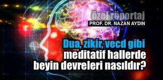 dua zikir vecd Meditatif hallerde beyin devreleri nasıldır? meditasyon nazan aydın