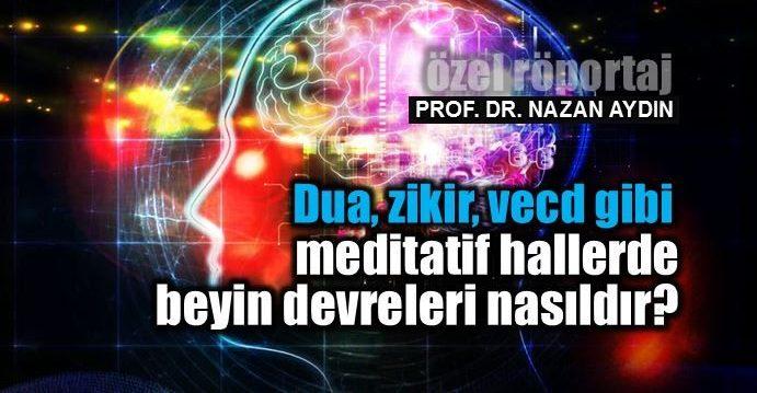Transcendence nedir? dua zikir vecd Meditatif hallerde beyin devreleri nasıldır? meditasyon nazan aydın