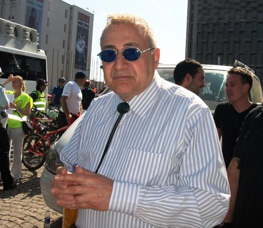Prof. Orhan Kural bisiklet turu cevre gunu