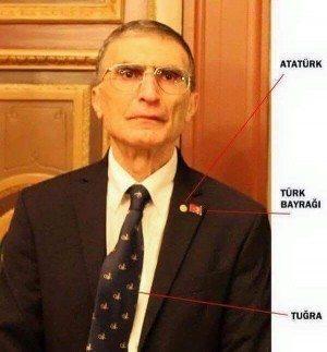aziz sancar atatürk anıtkabir türk bayrağı tuğra