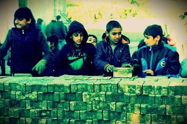 savaşın propaganda çocukları terör politik malzeme doğu güneydoğu kürt sorunu