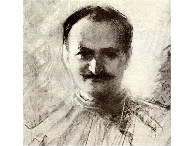Mihri Hanım'ın Tevfik Fikret tablosu (kaynakça: indigodergisi.com).