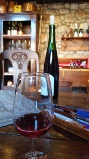 Andre Schere şarap tadım