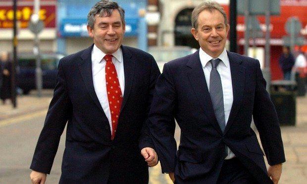 Budget Report - London tony blair ingiliz işçi partisi