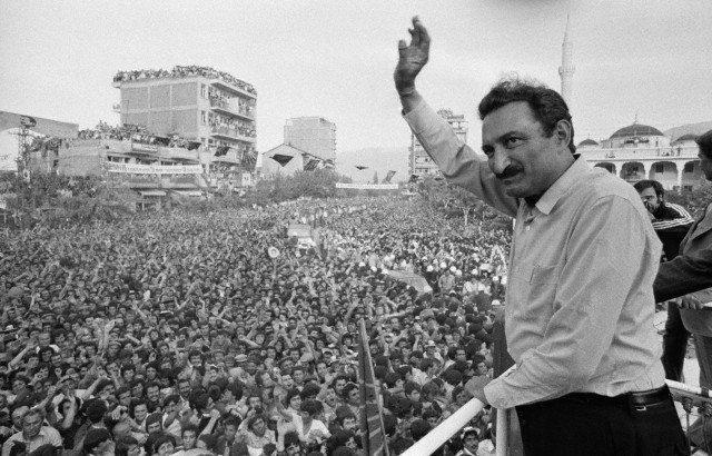 Bülent Ecevit CHP 1977 izmir