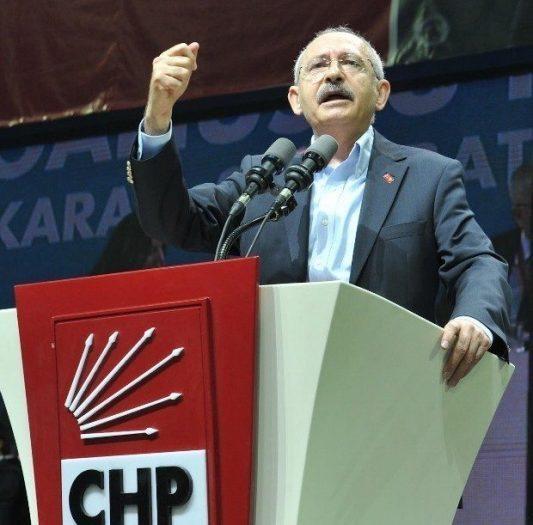 Kurultay K. Kılıçdaroğlu chp kurultayı