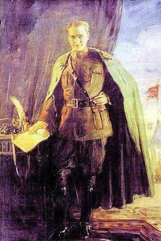 Mihri Hanım'ın Mustafa Kemal portresi (kaynakça: indigodergisi.com).