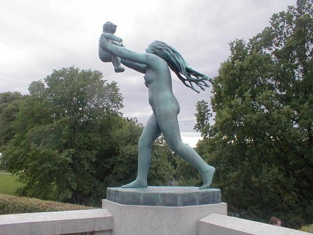 oslo frogner parkı vigeland heykel sergisi açık hava müzesi