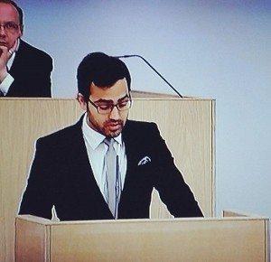Milletvekili Ozan Yanar Finlandiya Meclisi Grup Konuşması