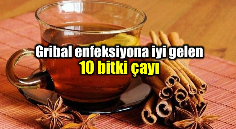 Gribe iyi gelen bağışıklığı güçlendiren 10 bitki çayı