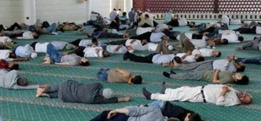 iftara kadar uykuda vakit geçiren müslüman uyuyan müslüman
