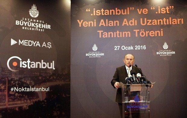 istanbul'a internette milli alan adı geliyor .ist .istanbul kadir topbaş
