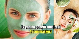 ev yapımı yosun maskesi tarifi hazırlanışı
