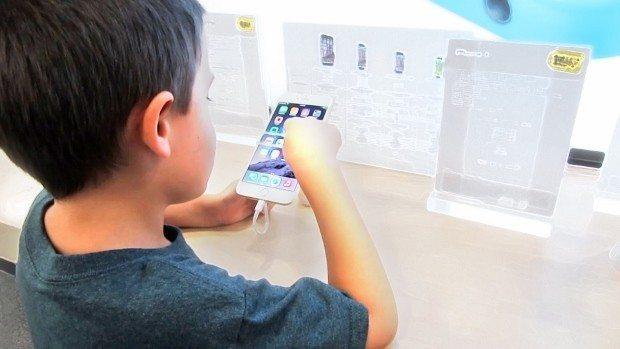 çocuk tablet akıllı telefonlar tablet göz bozukluğu