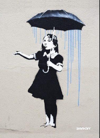 Banksy-şemsiye-kız-yeni-orleans24-36inch-tuval-handpainted-sokak-sanatı-grafiti