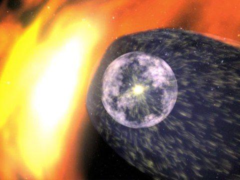 Şerit bir ışık kaynağı değil: Güneş Sistemindeki dev şerit