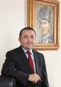 Murat Akyüz İstanbul Kimyevi Maddeler ve Mamülleri İhracatçıları Birliği (İKMİB) Yönetim Kurulu Başkanı