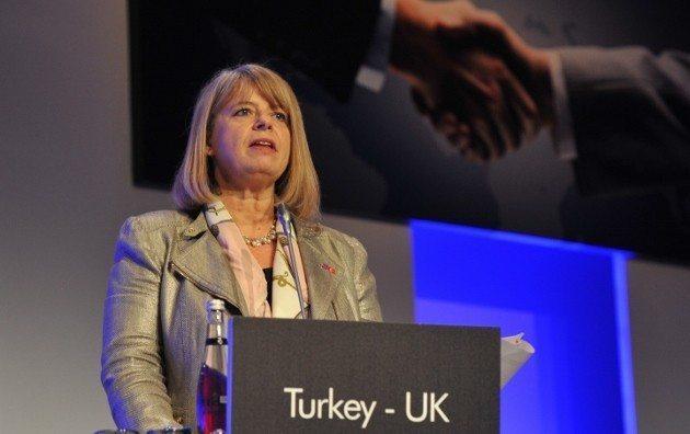Birleşik Krallık Hazine Müsteşarı Harriett Baldwin