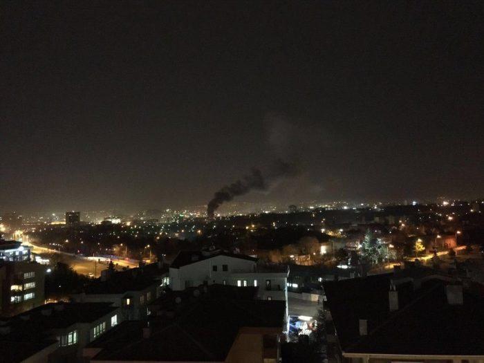 Ankara'da çok kritik noktada terör saldırısı devlet mahallesi