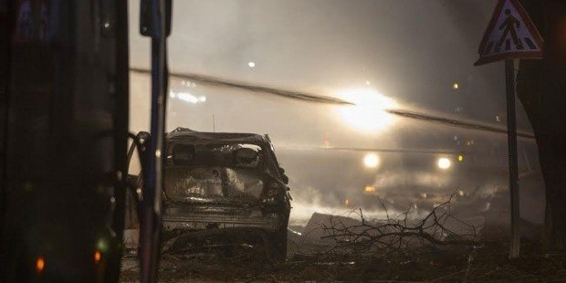 Ankara'da çok kritik noktada terör saldırısı patlama devlet mahallesi tbmm hava kuvvetleri genelkurmay