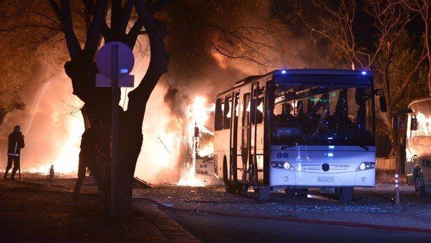 Ankara'da çok kritik noktada terör saldırısı