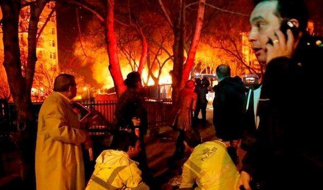 Ankara patlaması 17 Şubat 2016 Ankara Patladı: Ey teröristler!