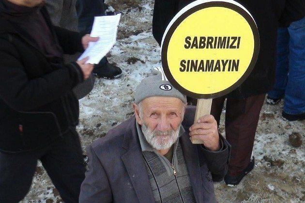 Sonunda Türkiye'de kefen kalmayacak artvin cerattepe maden yusufeli hes protestosu