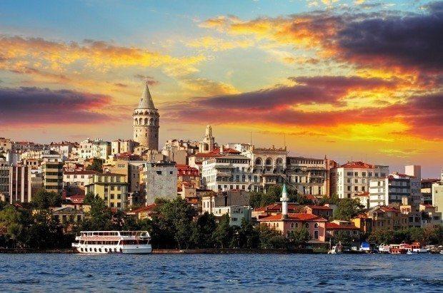 Türkiye'de satılık konut fiyatı metrekaresi 2,441 TL istanbul galata kadıköy sarıyer