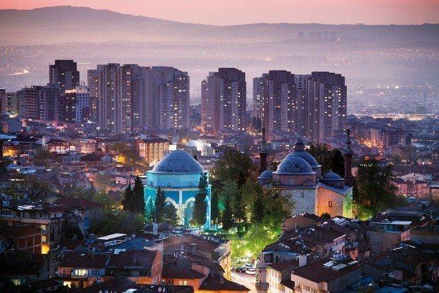 Türkiye'de satılık konut fiyatı metrekaresi bursa yıldırım çekirge gemlik
