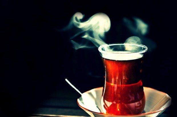 şekersiz çay türk çayı