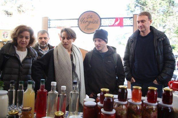 İstanbul'un ilk Yeryüzü Pazarı Şile'de gerçekleşti
