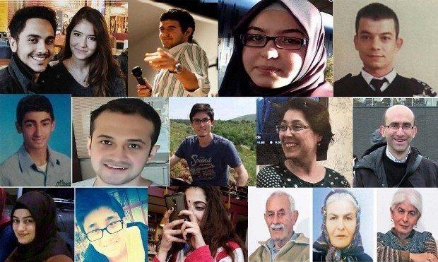 13 mart ankara terör saldırısında hayatını kaybedenler