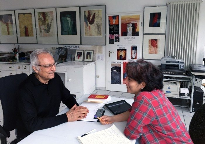 Interview with Turkish Artist Mehmet Güler