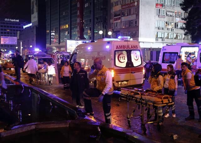 13 mart ankara saldırısı Çevik Kuvvet otobüs durakları güven park kızılay