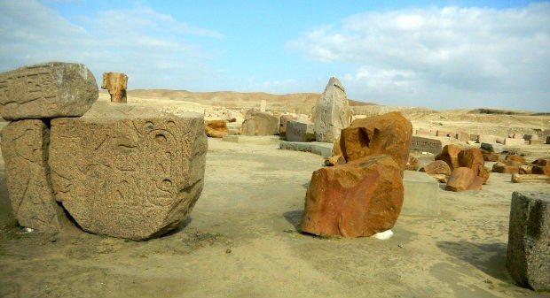 isis osiris thot eski mısır sais tapınağı