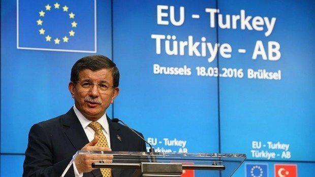 Türkiye ile Avrupa Birliği arasında anlaşmaya varıldı. Başbakan Davutoğlu, anlaşmayı tarihi bir gün olarak nitelendirdi.