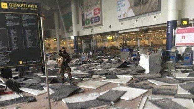 brüksel havalimanı patlama