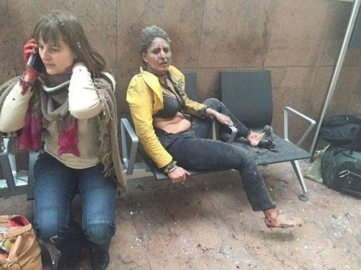 brüksel belçika metro istasyonu patladı havalimanı patlama